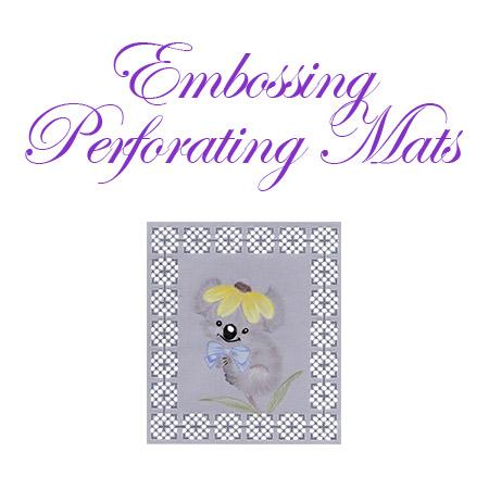 Embossing/Perforating Mats