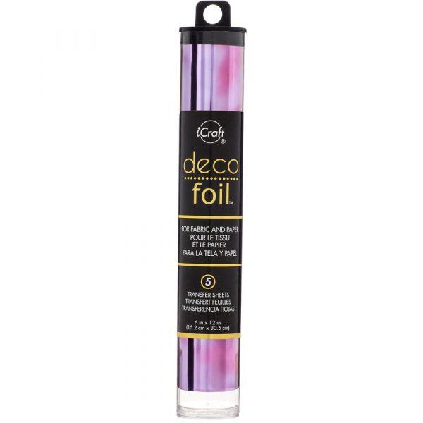 Deco Foil - Amethyst Watercolour
