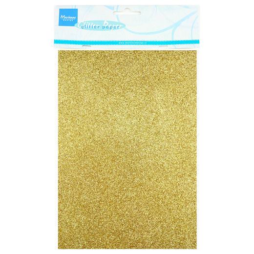 Marianne Design Glitter Paper - Gold