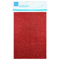 Marianne Design Glitter Paper - Red