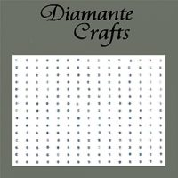 225 x 2mm Self Adhesive Diamantes