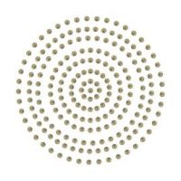 Couture Creations Adhesive Pearls - Deep Gold
