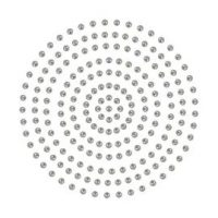 Couture Creations Adhesive Pearls - Silver