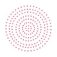 Couture Creations Adhesive Pearls - Deep Pink