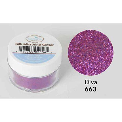 Elizabeth Craft - Silk Microfine Glitter - Diva