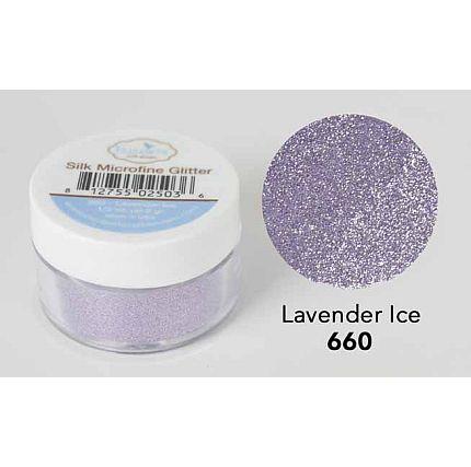 Elizabeth Craft - Silk Microfine Glitter - Lavender Ice