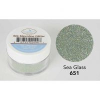 Elizabeth Craft - Silk Microfine Glitter - Sea Glass
