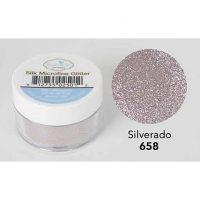 Elizabeth Craft - Silk Microfine Glitter - Silverado