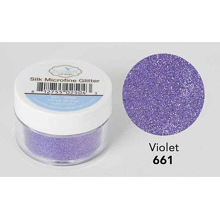 Elizabeth Craft - Silk Microfine Glitter - Violet