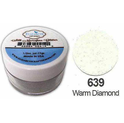 Elizabeth Craft Silk Microfine Glitter - Warm Diamond