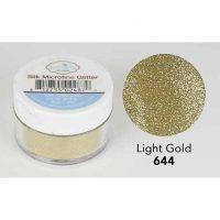 Elizabeth Craft Silk Microfine Glitter - Light Gold