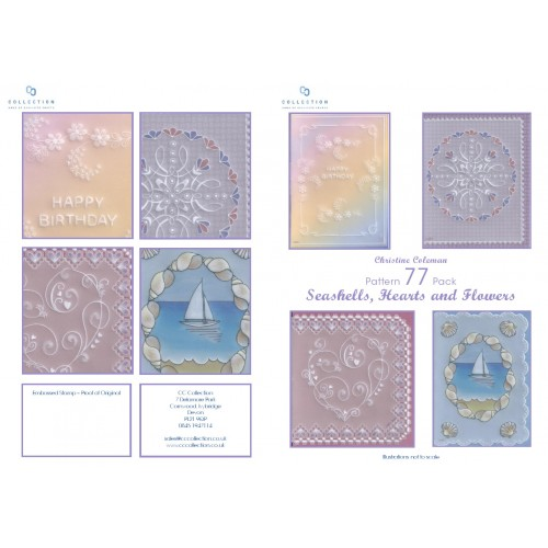 Seashells, Hearts & Flowers - Christine Coleman