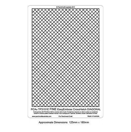 Cross Hatch - Fine Diagonal