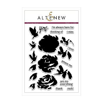 Altenew Stamps - Painted Rose