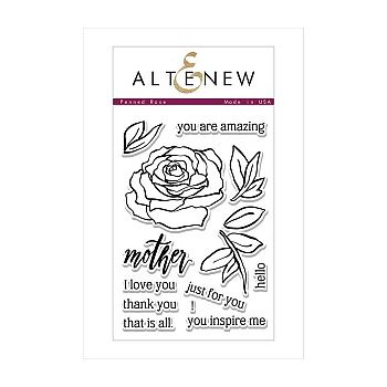 Altenew Stamps - Penned Rose