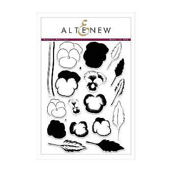Altenew Stamps - Pretty Pansies